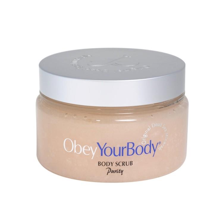Obey Your Body Dead Sea Salt Scrub Exfoliating Body Scrub Purity